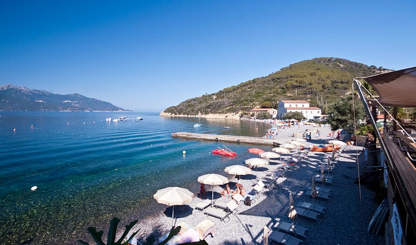 Spiaggia dell'Enfola, Elba