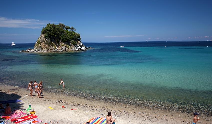 Spiaggia della Paolina, Elba