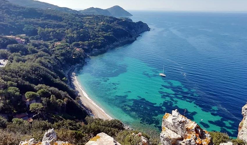 Spiaggia di Seccione, Elba