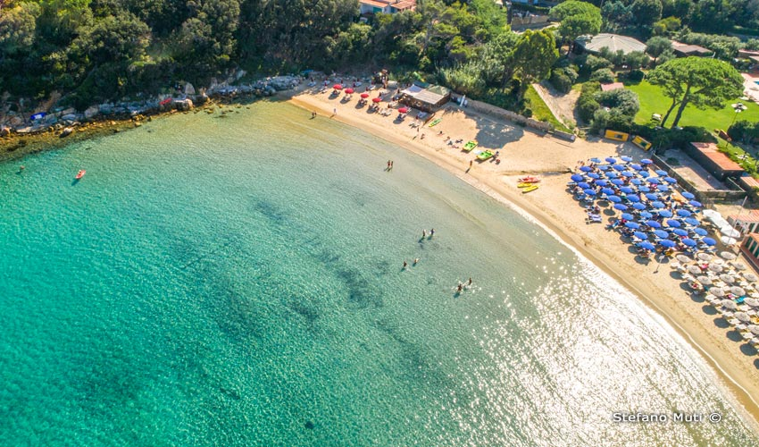 Spiaggia di Spartaia, Elba