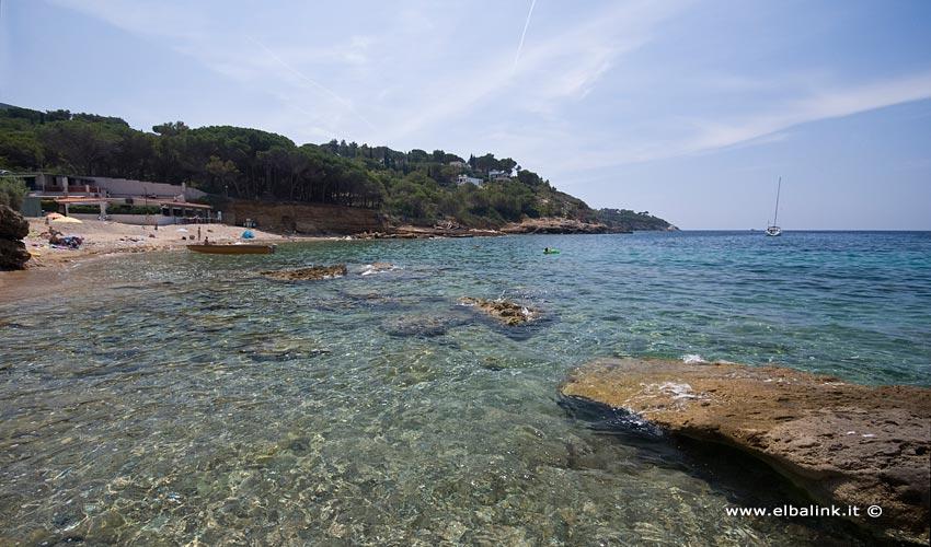 Spiaggia Madonna delle Grazie, Elba