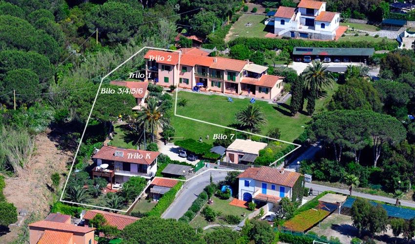 Villa Cecilia, Elba